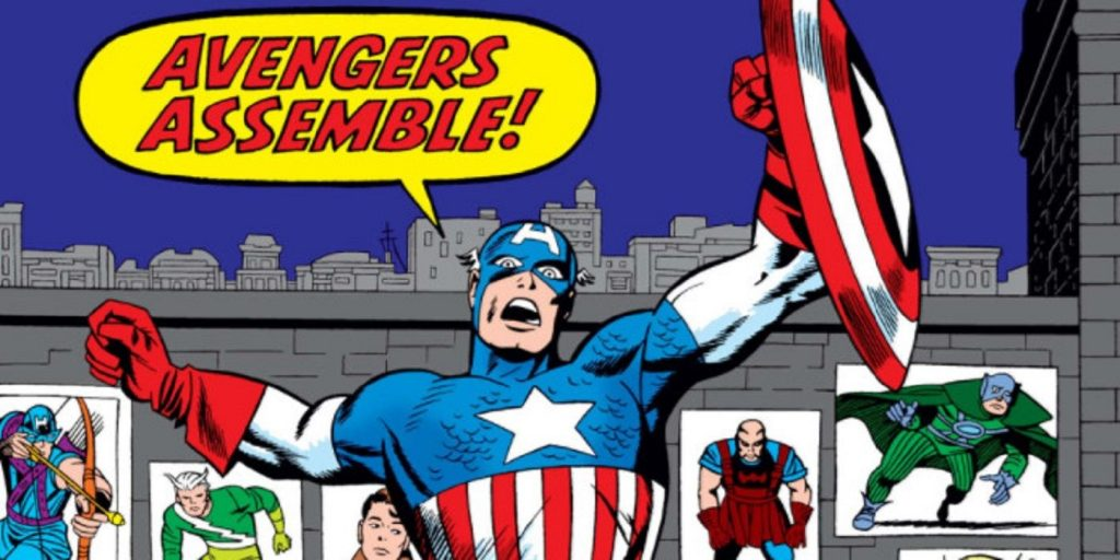 Captain America Calling the Avengers to Assemble. Assemble your wedding planning team!